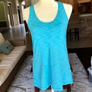Lightweight spandex feel running/workout tank